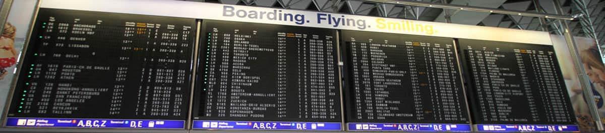 landungen flughafen frankfurt