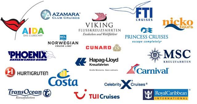 Reedereien Kreuzfahrten